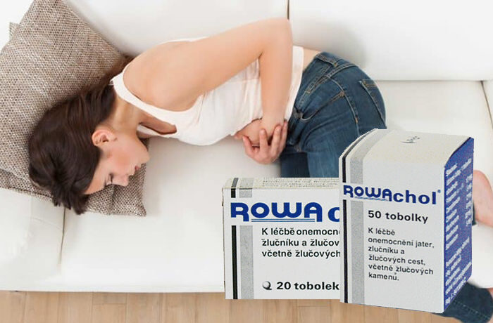 ROWAchol – tablety