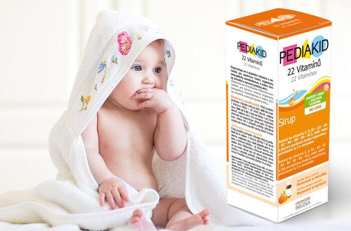 PEDIAKID® 22 Vitamínů